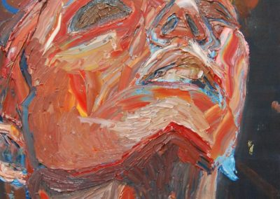 'Angel', oil on canvas, 2012