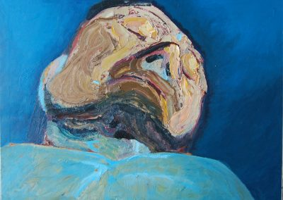 The Sleep of Reason, oil on canvas, 60 x 45cm, 2012