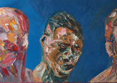 The Three Wise Men, oil on canvas, 50 x 122cm, 2012
